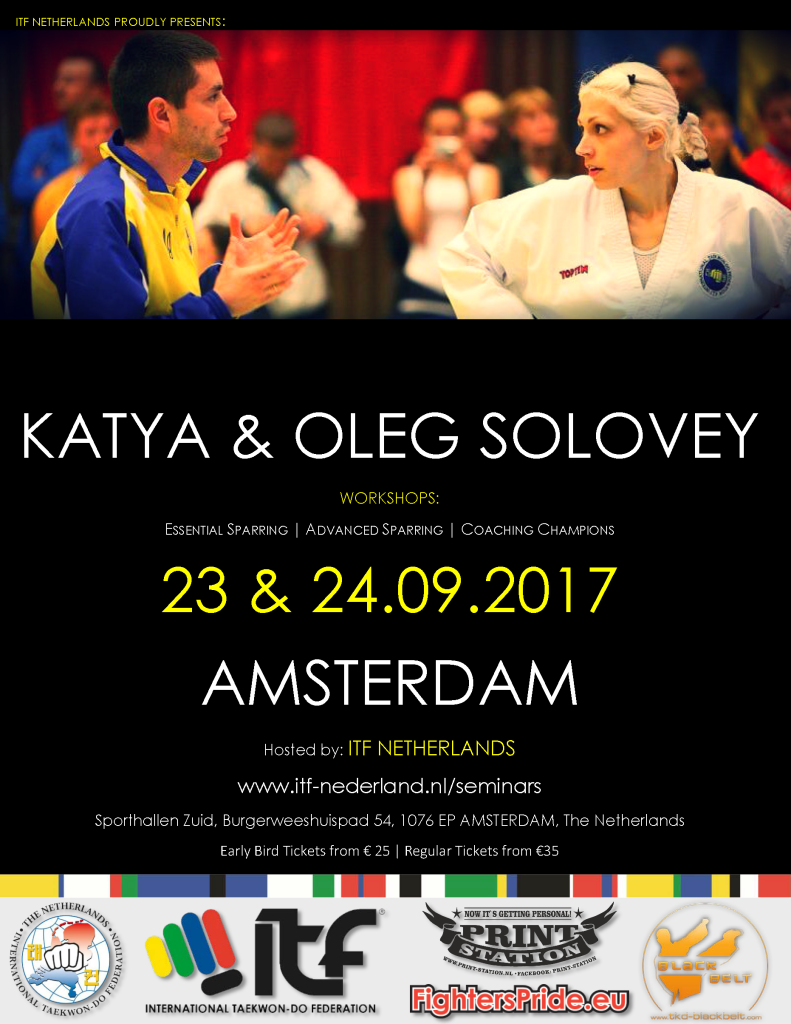 Poster Solovey Sparring Seminar 23-24 Sep 2017 AMSTERDAM DEF
