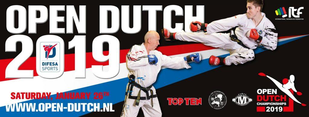 Open Dutch 2019: 26.01.2019 in Helmond